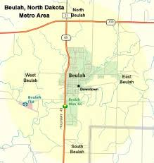 beulah dakota map beulah dakota metro area map beulah photo album topix