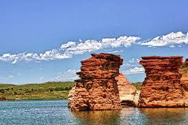 Kansas lakes images Rocktown quot at wilson lake in central kansas kansas pinterest jpg