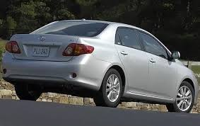 toyota corolla 09 2009 toyota corolla ground clearance specs view manufacturer details