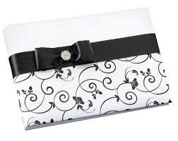 black wedding guest book wedding guest book pen sets wherebridesgo