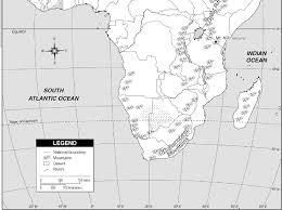 Africa Blank Map by A Blank Map Thread Page 4 Alternate History Discussion