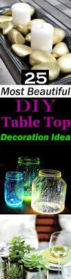 tabletop decorating ideas 25 most beautiful diy table top decoration ideas balcony garden web