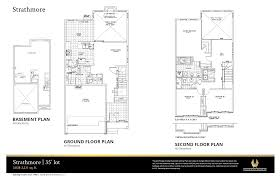 Floor Plan With Plumbing Layout by Strathmore Home Floor Plans Phoenix Homes