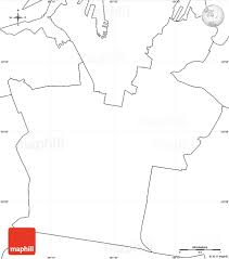 Map Of Africa Blank by Blank Simple Map Of South Sydney