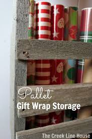 25 unique gift wrap storage ideas on wrapping paper
