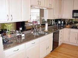 Kitchen Antiqued Mirrored Kitchen Backsplash Pictures Decorations - Mirrored backsplash