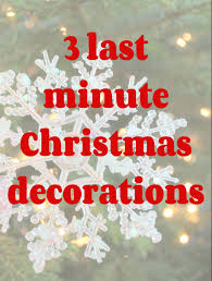 Easy Christmas Decorating Ideas Home Simple Christmas Decorations Ideas