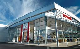 toyota car showroom car showrooms bespoke roll out programmes for toyota tesla chas