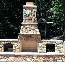 Stone Fireplace Kits Outdoor - outdoor fireplace kit u2013 mmvote