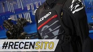 ufo motocross gear acerbis mx soft pro recensione pettorina fuoristrada youtube