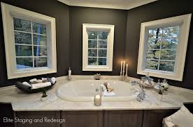 How To Stage A Bathroom Staging Luxury New Construction Before After Photos Elite