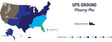 Ups Ground Shipping Map Shipping Information Würkin Stiffs