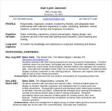 Resume Examples Food Service by Food Service Resume Template