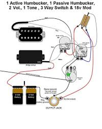 active pick up wiring schematic wiring diagram simonand