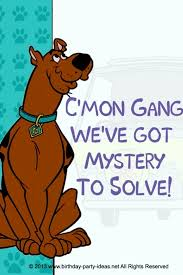mystery incorporated scooby doo birthday hard
