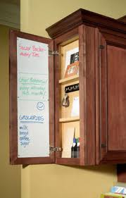 hidden message center cabinetry products semi custom kitchen