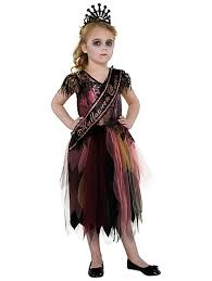 Halloween Costumes Kids Girls Scary Scare Queen Halloween Costume Kids George
