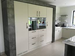 painted kitchen with gun metal effect bespoke kitchens
