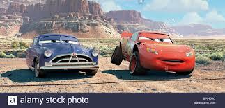 cars sally and lightning mcqueen doc hudson u0026 lightning mcqueen cars 2006 stock photo royalty