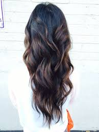 light brown highlights on dark hair trendy hair highlights curly black hair with brown highlights