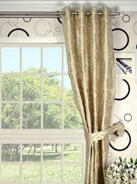 rainbow embroidered scroll grommet dupioni silk curtains