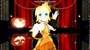 anime happy halloween kagamine rin happy halloween mmd hd english sub youtube