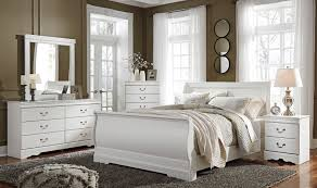 Slay Bedroom Set White Youth Sleigh Bedroom Set