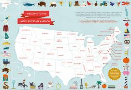 Map Of America With States by Discover America With This Fun Activity Book