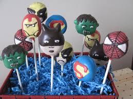 spiderman cakepops sweetthingz