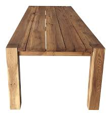 restoration hardware natural oak dining table chairish