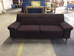 Vintage Mid Century Sofa Post 1950 Sofas U0026 Chaises Furniture Antiques Picclick