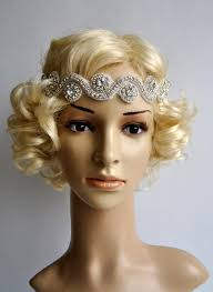 gatsby headband wedding headband rhinestone headband headband wedding