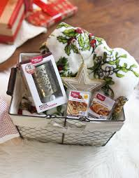 Comfort Gift Basket Ideas Holiday Gift Basket Ideas Making Home Base