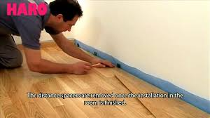 Haro Laminate Flooring How To Install Wood Flooring Haro Top Connect Installation Guide