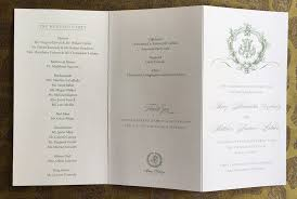 booklet wedding programs pulitzer custom collections