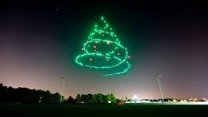 christmas lights to intel s shooting drones bring flying christmas lights to