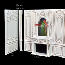 extra wide panel royal paneling line white