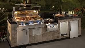portable outdoor kitchen island magic built in barbecue grills built in gas and charcoal