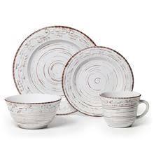 casual stoneware melamine dinnerware sets pfaltzgraff