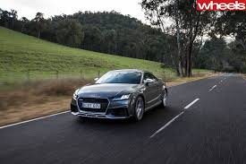 audi tt m dartmouth dam to omeo in a 2017 audi tt rs wheels