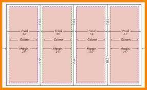 brochure 4 fold template 4 fold brochure template template design 4 fold brochure template