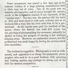 cheap photographers casual photographers were stealing work from pros back in 1887