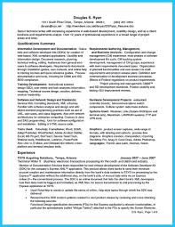 Technical Business Analyst Resume Business Analyst Resume Summary