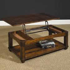 lift top cocktail table rectangular mission lift top cocktail table by hammary wolf and