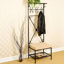 harper blvd easton hall tree bench free shipping today