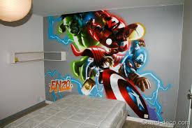 chambre marvel deco chambre marvel visuel 2