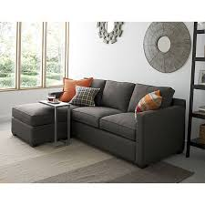 3 Seat Sectional Sofa About Us Crates Barrels And Ottomans