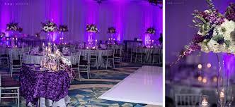 purple and silver wedding ritz carlton grande lakes and henry s purple elegance