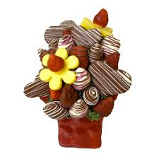 edible bouquet cupid bouquet orchard berry arrangements spruce grove