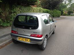 2000 fiat seichento 1 0 manual petrol service history 10 months